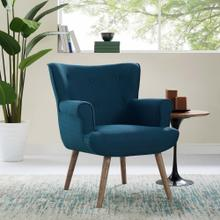 Cloud Upholstered Armchair in Azure