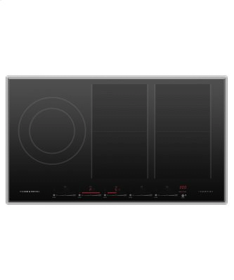 """Induction Cooktop, 36"""", 5 Zones with SmartZone"""