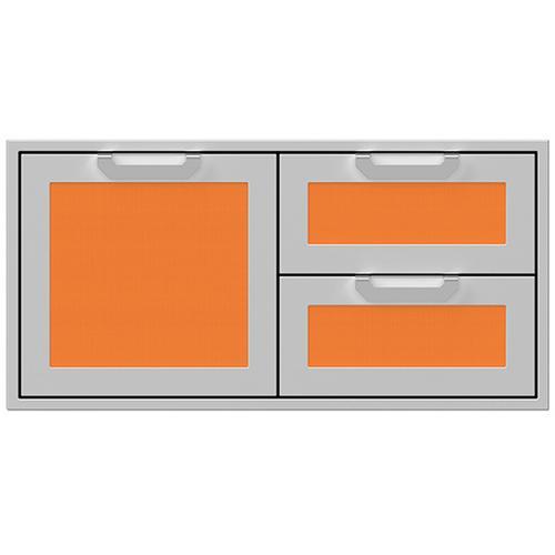 """Hestan - 42"""" Hestan Outdoor Combo Door/Drawer - AGSDR Series - Citra"""