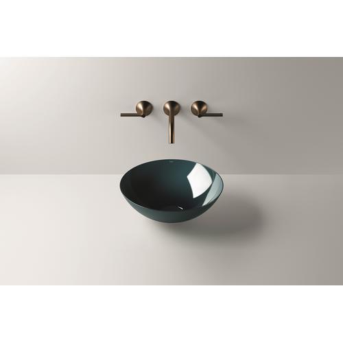 Dish basin, SB.Aqua360, deep indigo