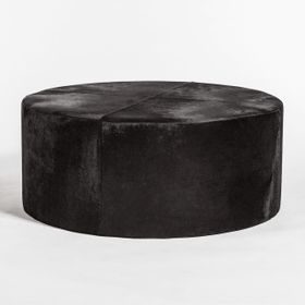 St Francis Large Leather Ottoman