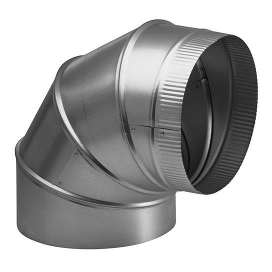 """Best8"""" Round Elbow Duct For Range Hoods And Bath Ventilation Fans"""