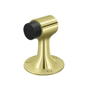 Floor Mount, Bumper, HD, Solid Brass - Polished Brass
