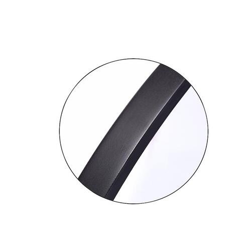 Kit Round Mirror Midnight Black