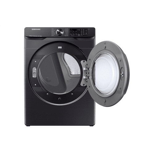 7.5 cu.ft. Smart Electric Dryer with Steam Sanitize+ in Black Stainless Steel