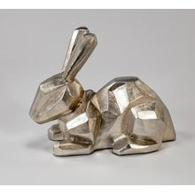 """View Product - """"Lucky Bunny"""" Silver 16x8x13"""""""
