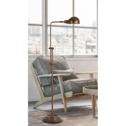 Cal Lighting & Accessories - 60W Croby Pharmacy Floor Lamp
