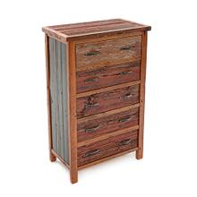 Cowboy Up 5 Drawer Chest