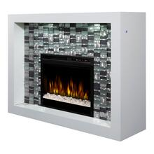 See Details - Crystal Mantel Electric Fireplace