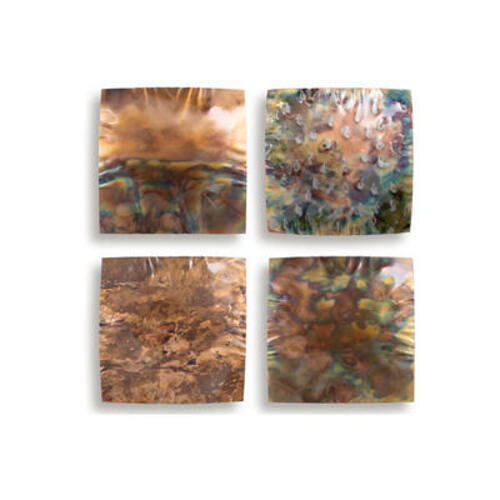 Artisan House - Warm Squares (S/4)