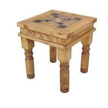 See Details - Marble End Table