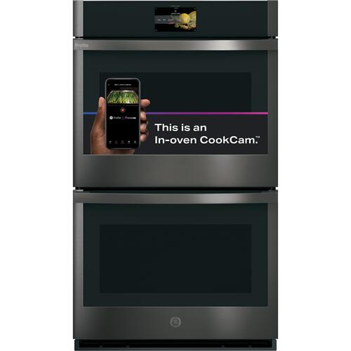 """Gallery - GE Profile™ 30"""" Smart Built-In Convection Double Wall Oven with In-Oven Camera and No Preheat Air Fry"""