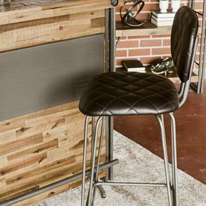 Yosemite Home Decor - Leatherette Bar Stool