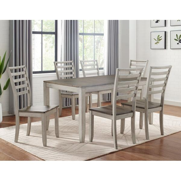 See Details - Abacus 5-Piece Dining Set (Table & 4 Side Chairs)