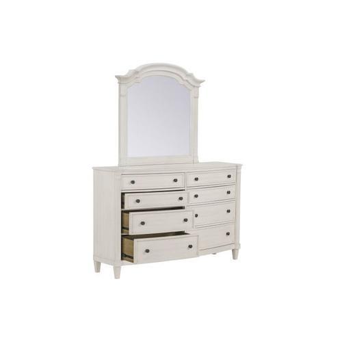 Mallory White Dresser