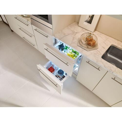 "24"" Designer Refrigerator Drawers - Panel Ready"