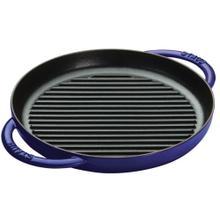 "Staub Cast Iron 10"" Pure Grill, Dark Blue"