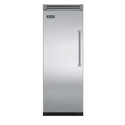 "Viking - Stainless Steel 30"" Quiet Cool™ All Freezer - VIFB Tru-Flush™ (Left Hinge Door)"