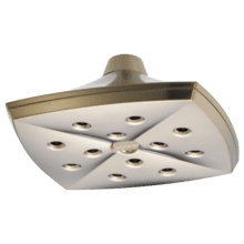 See Details - H 2 Okinetic® Square Raincan Showerhead