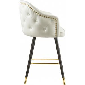 """Barbosa Faux Leather Bar  Counter Stool - 23"""" W x 23"""" D x 41"""" H"""