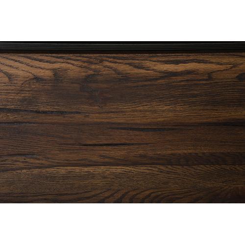Modrest Wharton Modern Dark Aged Oak Nightstand