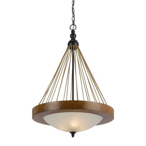 Cal Lighting & Accessories - 3 Light Monticello Pendant Fixture