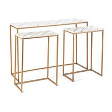 Lucerne Console and Accent Tables - Set of 3