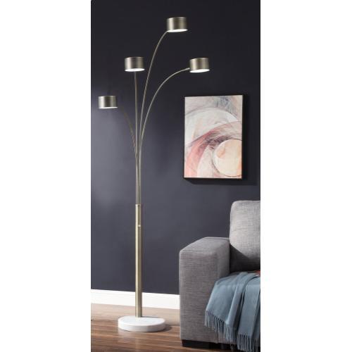 """85.5""""H 4 Arm Arc Floor Lamp"""