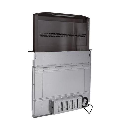 "BEST Range Hoods - Cattura Downdraft Ventilator - 36"" Black Stainless Steel 650 Max CFM to 1650 Max CFM"