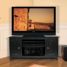 See Details - WAVS322 No Tools Assembly Deep Black Finish A/V Cabinet fits most TVs up to 42 inches from Bell'O International Corp.