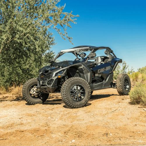 Rockford Fosgate - 1000 watt stereo, front speaker, subwoofer, & rear speaker kit for 2017+ Maverick X3