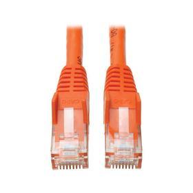 Cat6 Gigabit Snagless Molded (UTP) Ethernet Cable (RJ45 M/M), Orange, 35 ft.