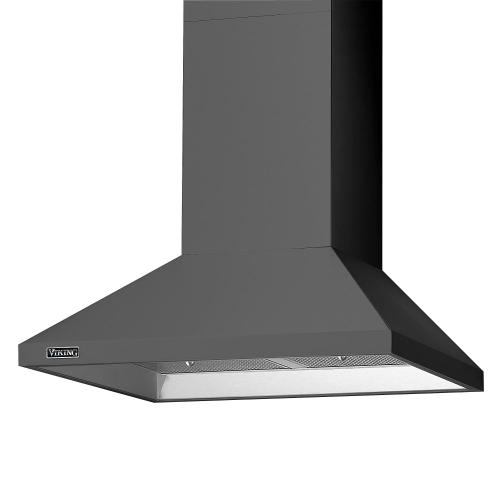 "30"" Wide Chimney Wall Hood + Ventilator - RVCH"