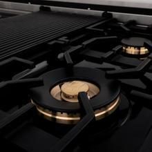 See Details - ZLINE Brass Burners (BRASSBR) [Size: 30 inch]