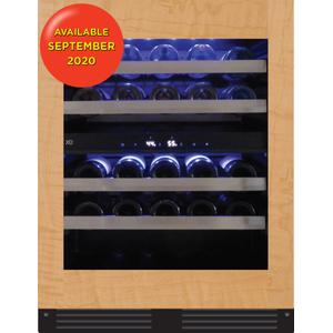 XO APPLIANCE24in Wine Cellar 2 Zone Overlay Glass ADA Height