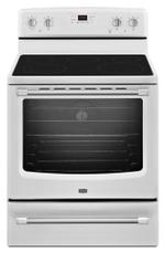 Maytag MER8700DS Electric Ranges Freestanding Smoothtop Electric Range 30-inch Wide Electric Range with Convection and Power Element - 6.2 cu. ft.