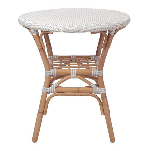 Product Image - Orleans Paris Bistro Dining Table, White/ Gray