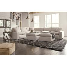 6-piece Sectional With Ottoman