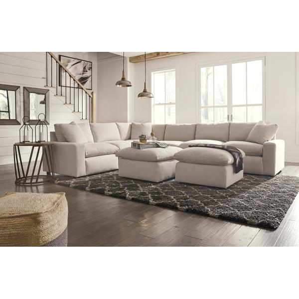 See Details - 6-piece Sectional With Ottoman