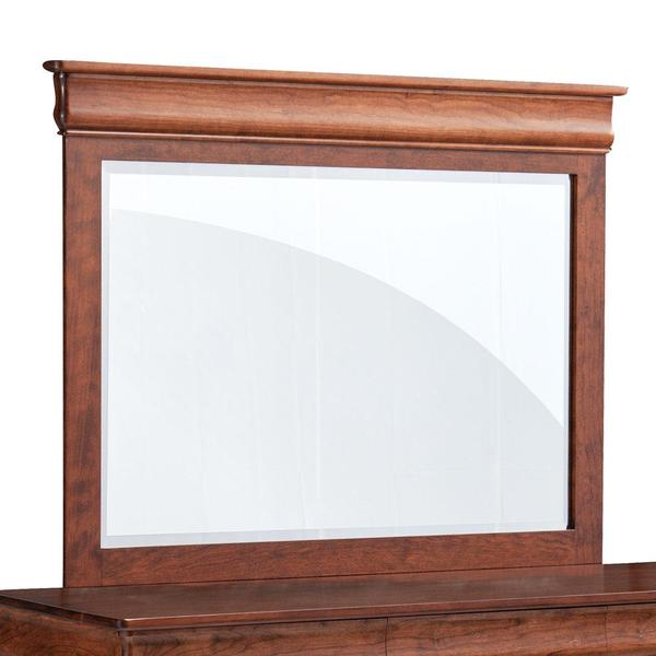 See Details - Louis Philippe Mule Chest Mirror