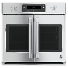 "DISCONTINUED MODEL GE Cafe™ Series 30"" Built-In French-Door Single Convection Wall Oven"
