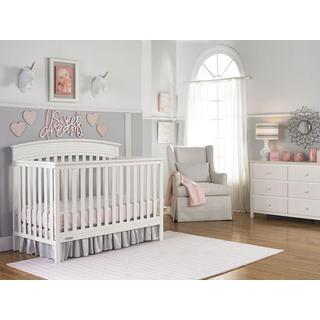 Fisher-Price Shelburne Convertible Crib Snow White