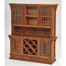 See Details - Stony Brooke - Entry Way Hutch With Wine Rack and Wine Glass Holder