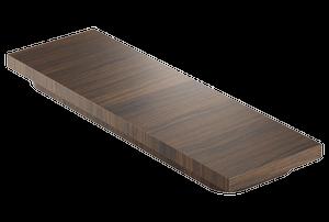 Cutting board 210075 - Walnut Stainless steel sink accessory , Walnut Product Image