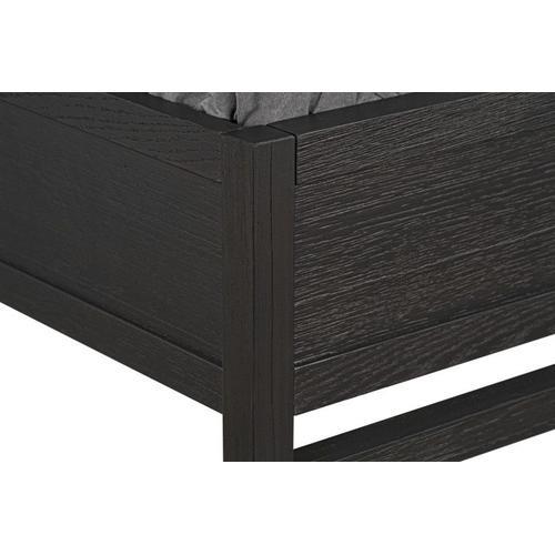 Gallery - Thomas Black King Bed Panel Headboard, Black