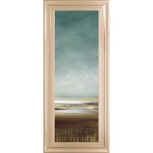 "Classy Art - ""New Horizons II"" By Tesla Framed Print Wall Art"