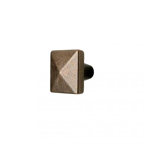 Square Knob - CK225 Silicon Bronze Rust
