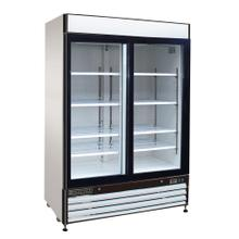 Maxx Cold X-Series Merchandiser Refrigerator with Glass Sliding Door (48 cu. Ft.)