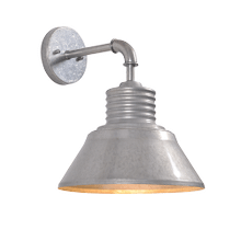 View Product - Sully - Medium Outdoor Wall Lantern with Straight Arm