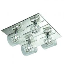 Finesse Lighting- Chrome and Chrystal Wall Lamp